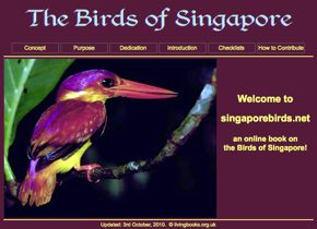 The Birds of Singapore – an online book