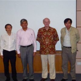 Collaboration with Raffles Museum of Biodiversity Research