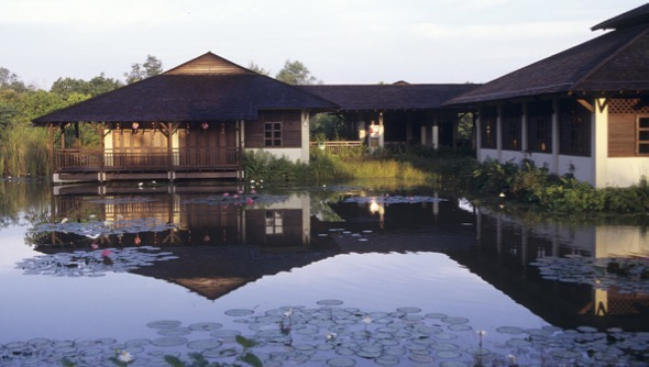 Visitor Centre, Sungei Buloh Wetland Reserve (Photo credit: Dr Chua Ee Kiam)