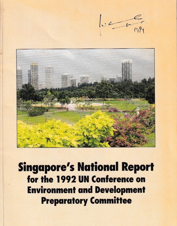 Singapore's report to UNCED, 1991