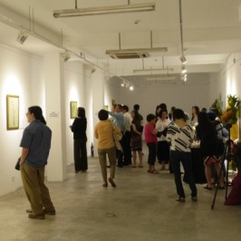 Thong Chow Ngian's solo art exhibition